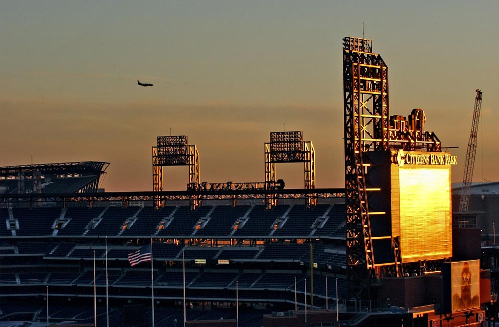 Citizens Bank Park, home of thePhiladelphia Phillies, 2008 World Series Champions.