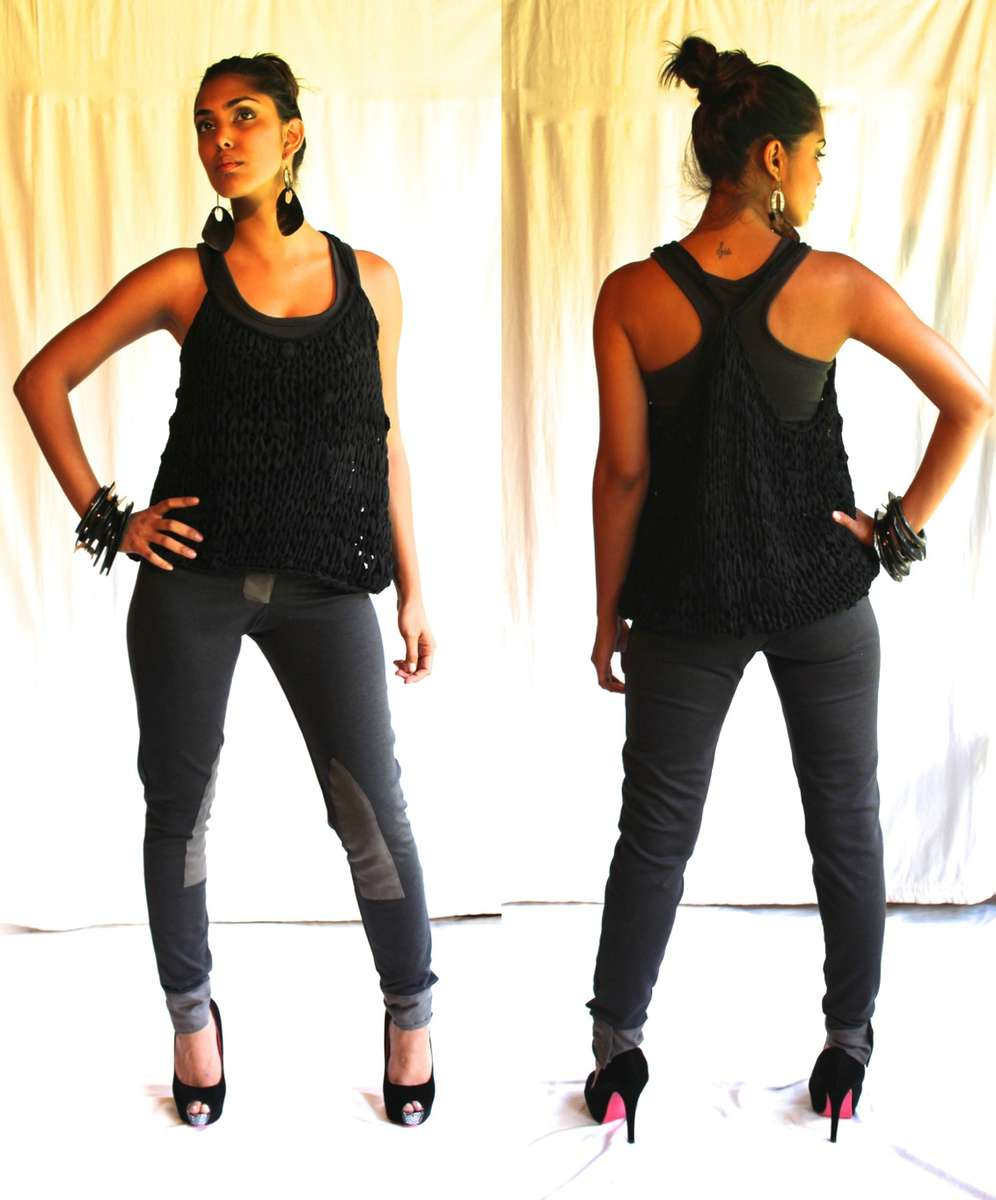 Classic Knit Tank Top 14 000 kesShort Racer Top 3,500 kesRiding pants with buttons 24,000 kes