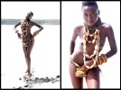 Dead Wood necklaces and bangles on the magadi salt lake. All pictures by Jonathan Glynn Smith.