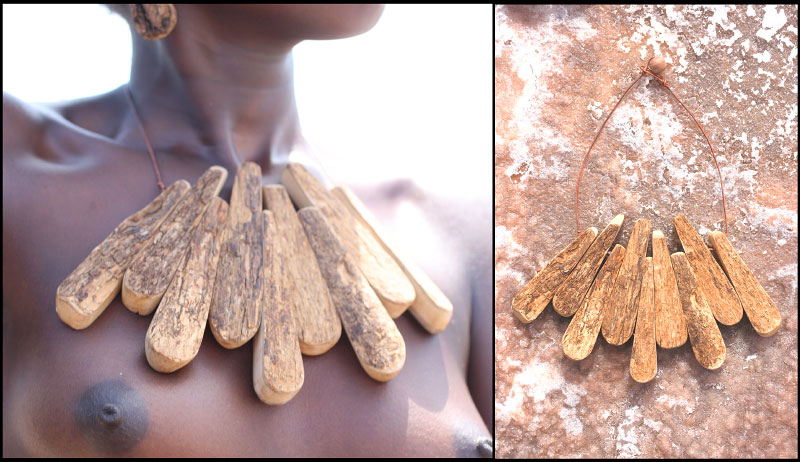 {quote}Big drop choker with bark{quote}, wild olive tree. 290 $