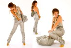 {quote}Tight wrap jumpsuit{quote} 530 $. {quote}Everyday bag{quote} 170$.Pictures by Shlomi Amsallem.