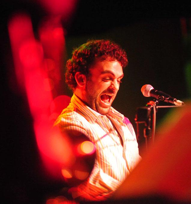 Lefty Hathaway plays at the 40 Watt Club in Athens, Ga.