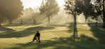 An early morning golfer enjoying the perfect early light. Photo © 2013 Jay Graham, all rights reserved