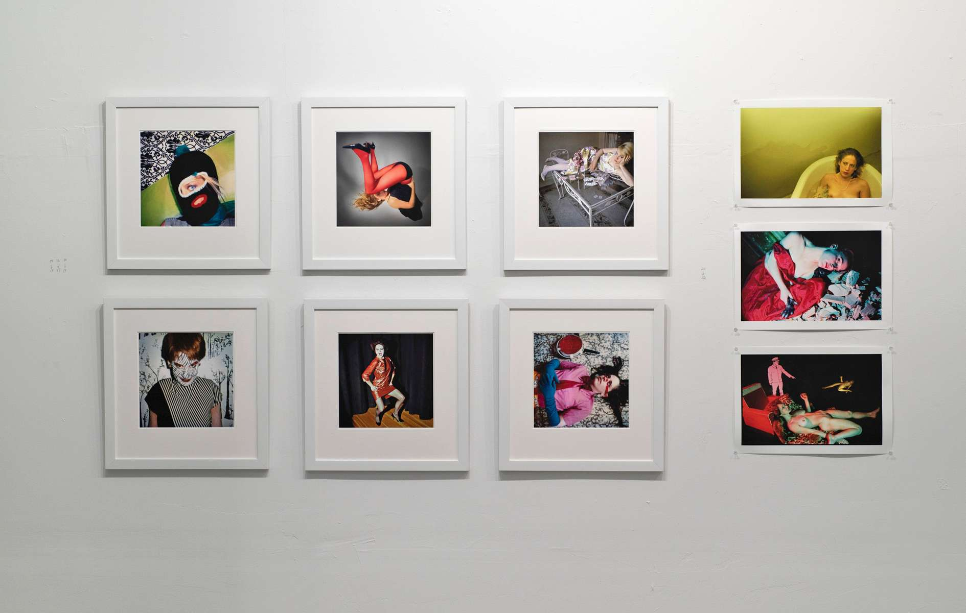 Installation View of Gillen's Photographs