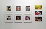 Installation View of Gillen's Photographs
