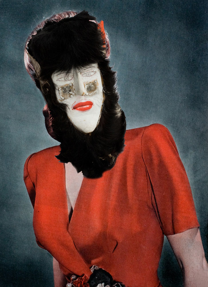 Celebrity Masks Series, 2009Archival inkjet on matte paper20 x 30 in.Edition of 10 with 2 AP