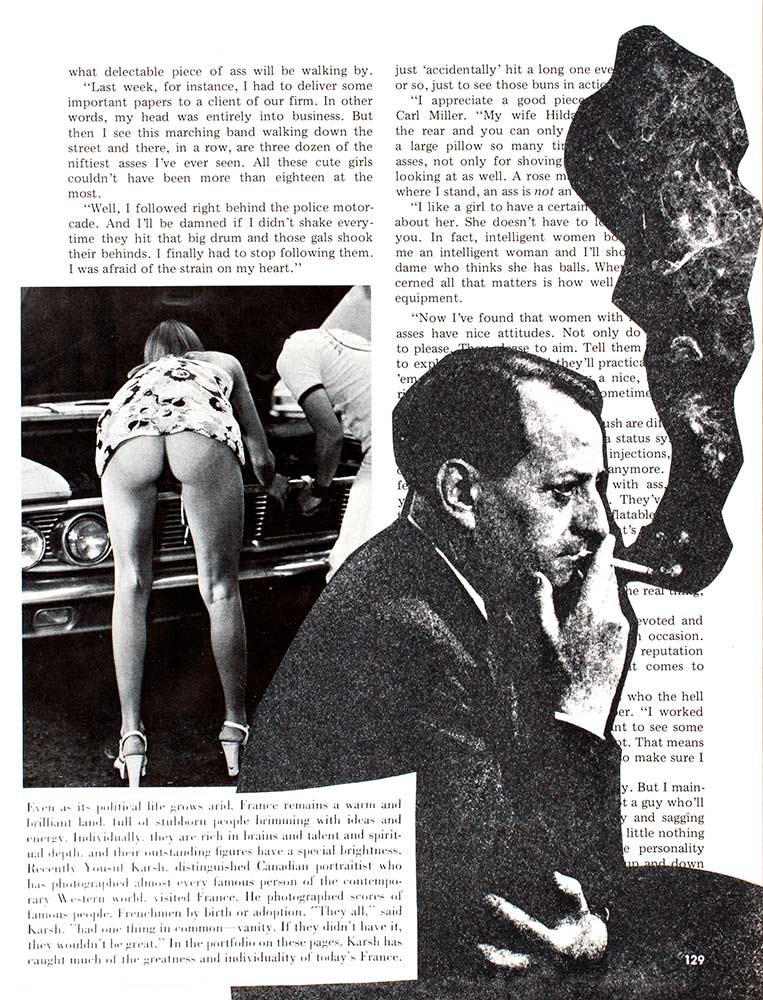 André Malraux Smoking