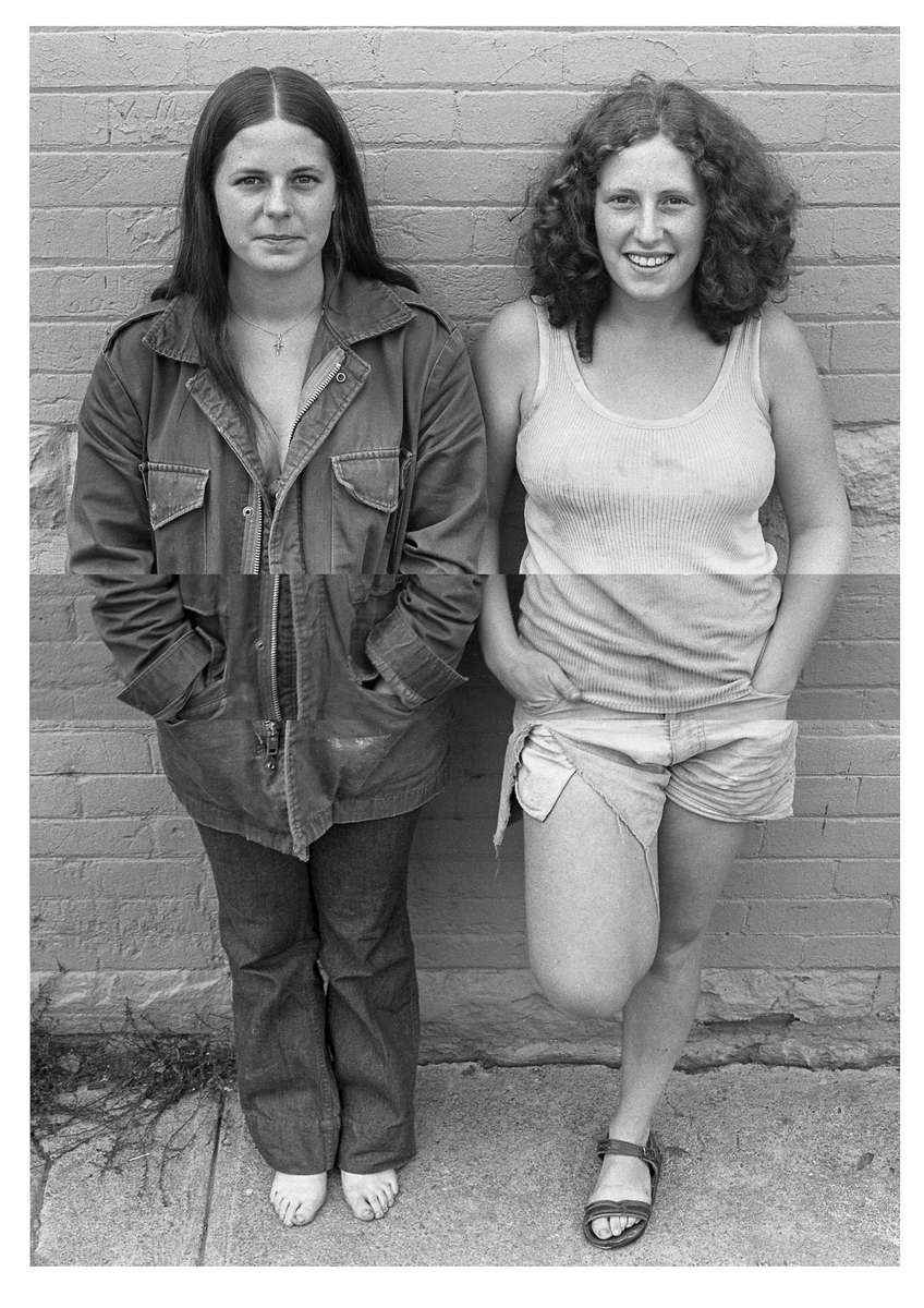 Two Young Woman, Aspen, CO