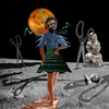 Ballerina With Scissors, 202020 x 24 inch Pigment Print, Edition of 8, with 2 artist proofs
