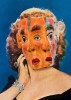 Greer Garson wearing Mexican Three Face Mask