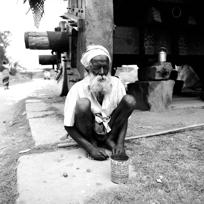 Blind Begger, Nanjungud, India