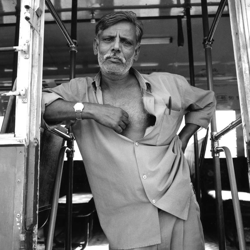 Bus Driver, Mysore, India