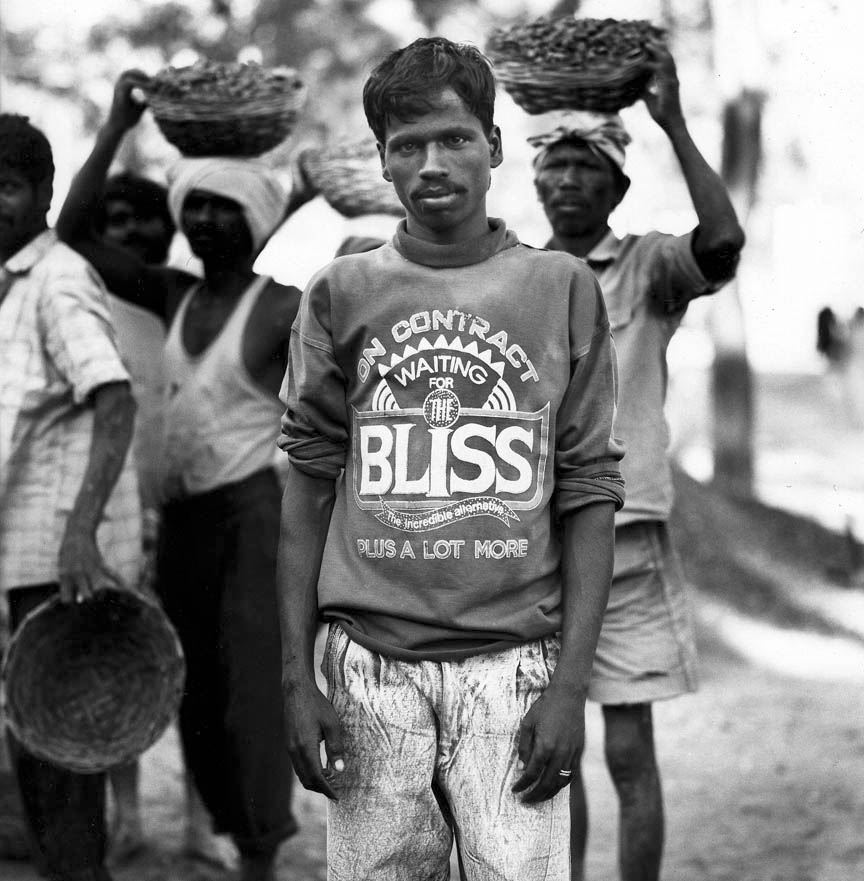 Construction Worker, Mysore, India