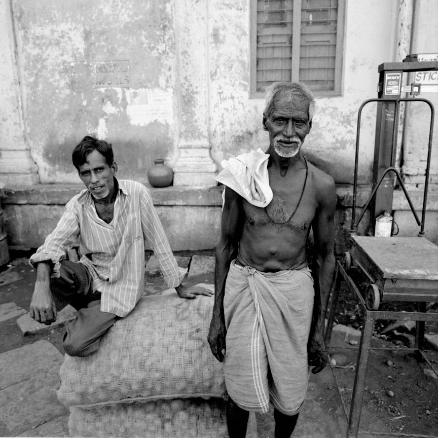 Day Laborers, Mysore Market, India