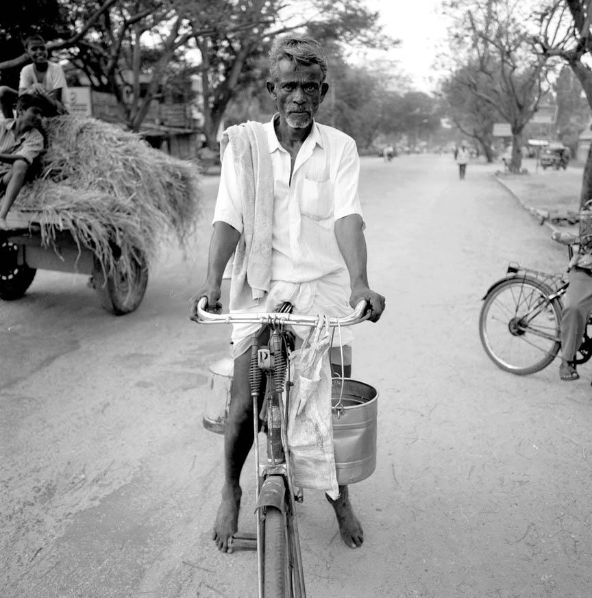 Milkman, Vontikoppal, India