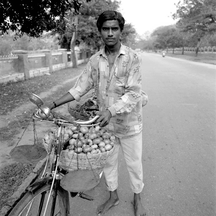 Vegetable Seller, Mysore, India