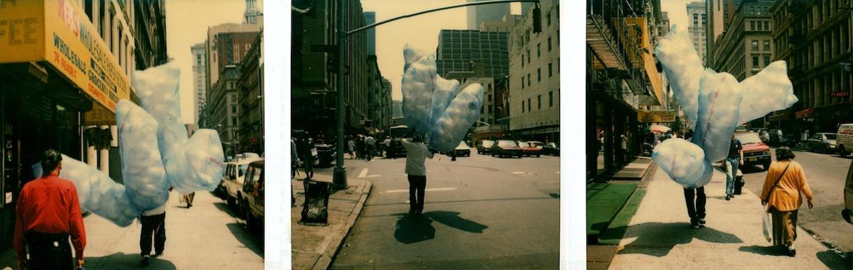 Baloon Seller, SX70 Polaroid Assembly