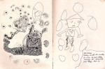 Drawing/ Collabration With My Daughter India