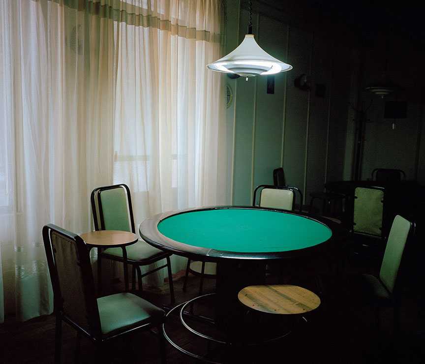 Poker Table, Coffee House
