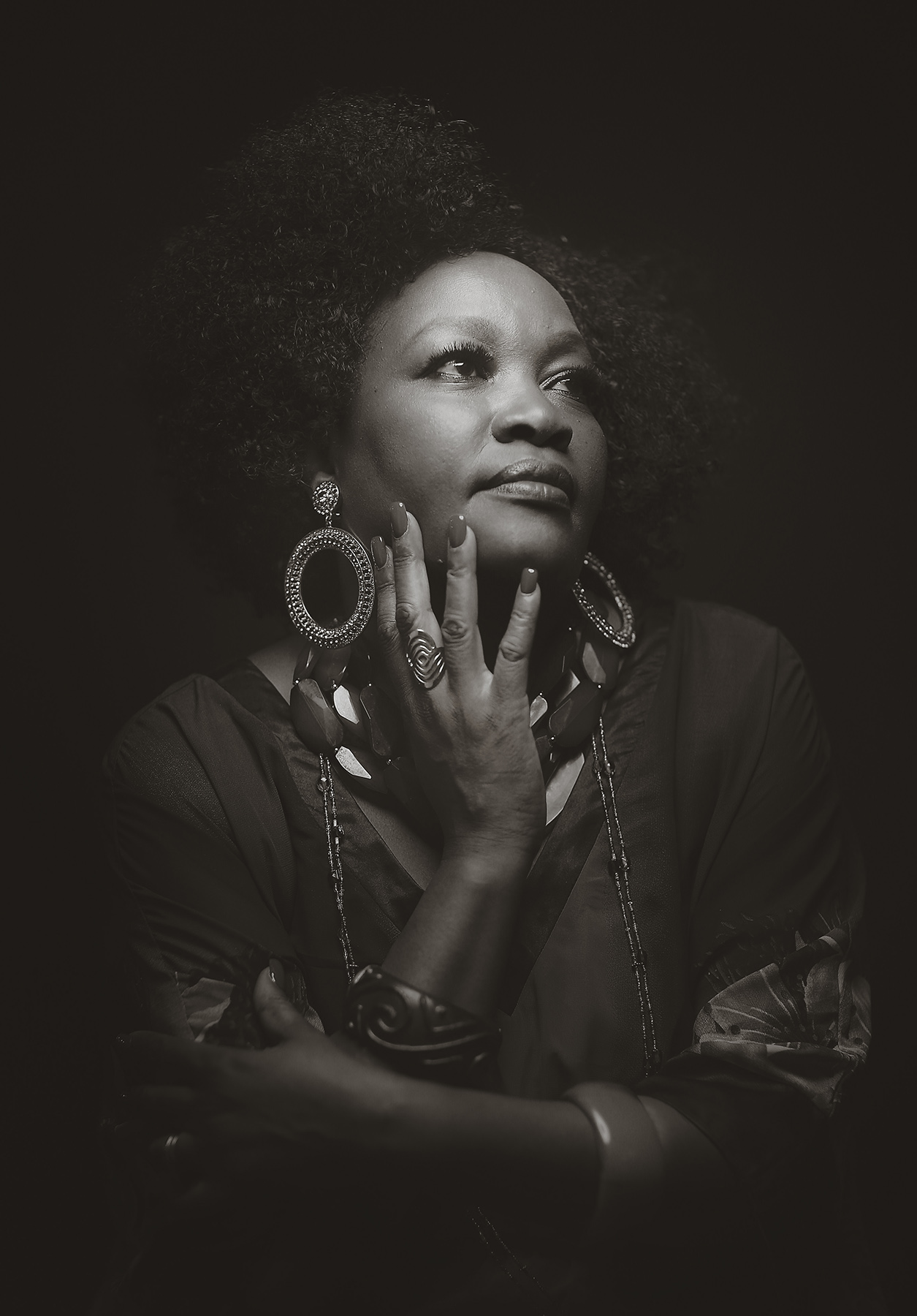 Portrait of Cheptoo Kositany-Buckner, Director Of American Jazz Museum.