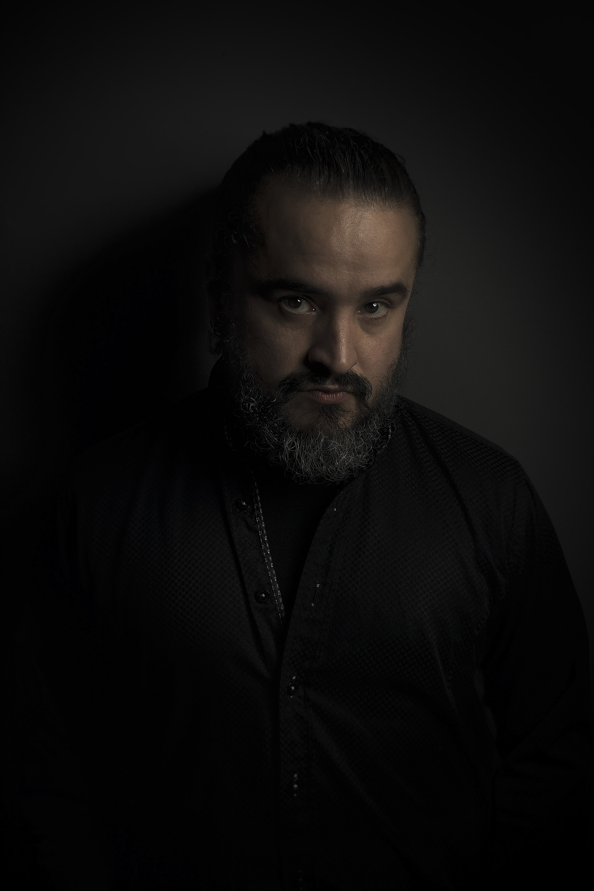 Portrait of musician and artist, Fernando Achucarro.