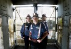 Portrait of miners from the Lafarge Sugar Creek Cement Plant