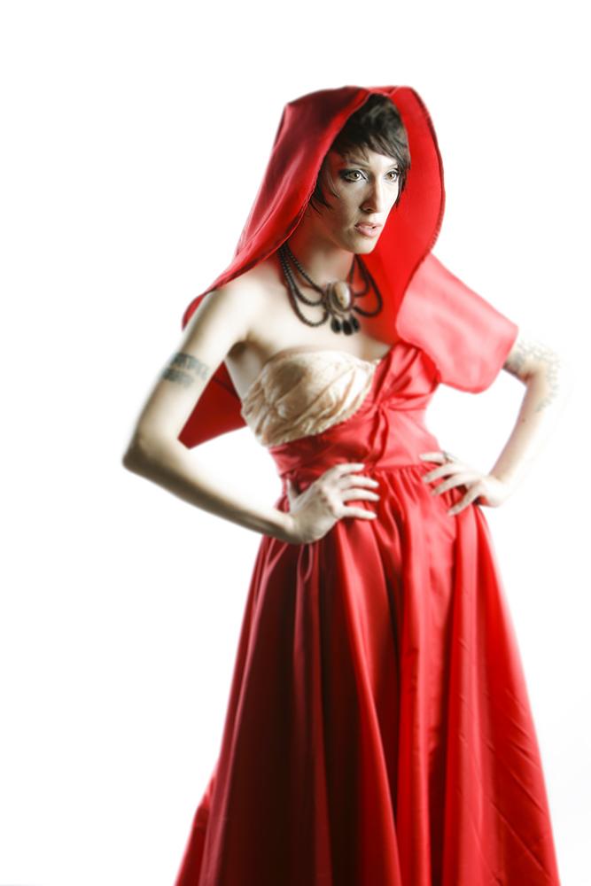 Portrait of fashion designer, Nataliya Meyer