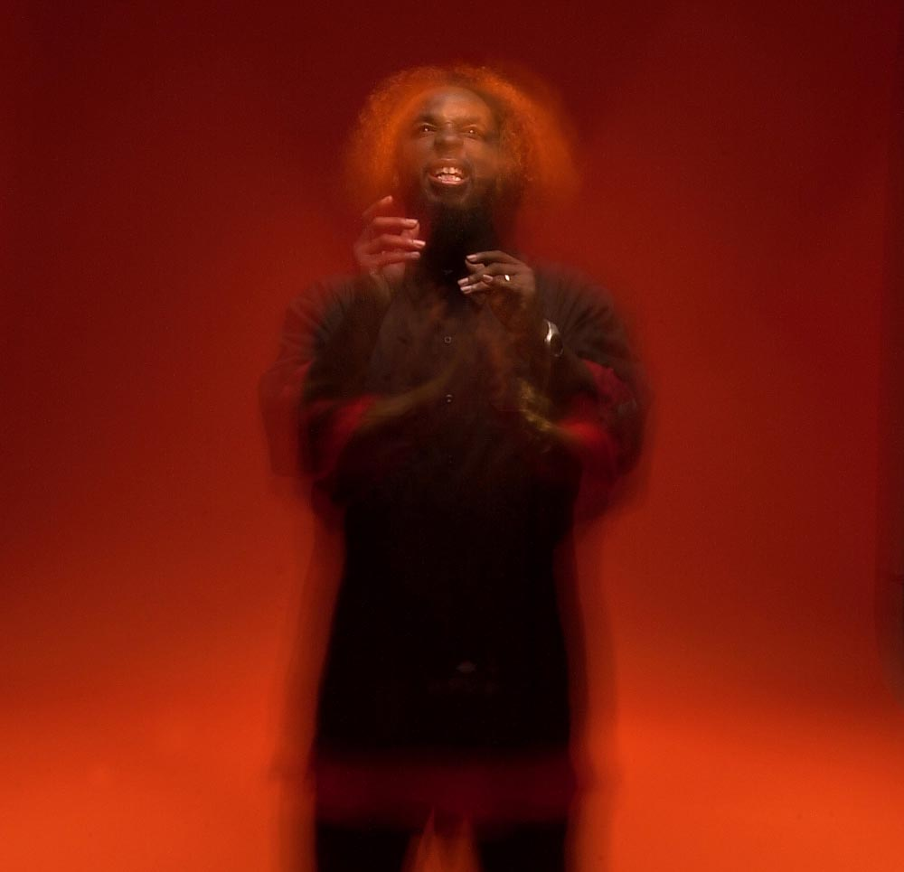 Portrait of musical artist Tech N9ne