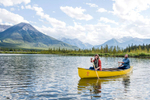 Banff-Engagement-Session-Canoe-020