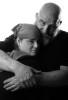 Brandi Gullart and James Lunsford, Denver Rescue Mission portrait series 11/25/09.  Photo by Matt McClain