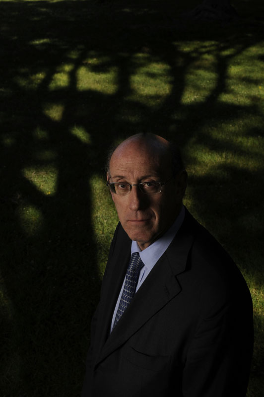 Kenneth R. Feinberg poses for a portrait at Lafayette Square on Friday June 15, 2012 in Washington, DC.  Feinberg, a lawyer, served as special master of the government's September 11th Victim Compensation Fund and as the administrator of the BP Deepwater Horizon Disaster Victim Compensation Fund.  (Photo by Matt McClain for The Washington Post)