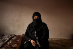 Ateyat, 42, mother of Moneer, a protester who was abducted in Nasr City, April of 2011, accused of criticizing the government. Mar. 27, 2012