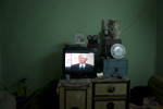 An Egyptian politician talking about military tactics on television. Mar. 10, 2012