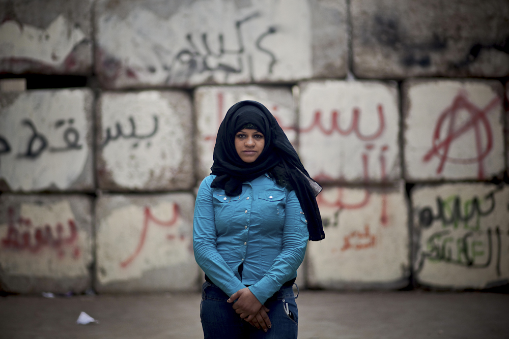 Roqaia, 21, was abducted by SCAF off of Mohamed Mahmoud street early Dec of 2011, accused of taking part in protests. She was detained inside a military prison for 9 days. During her sentence Roqaia encountered a series of sexual assaults. Feb. 14, 2012