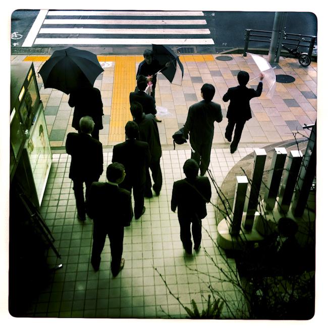 Downtown Tokyo. Nov. 2012