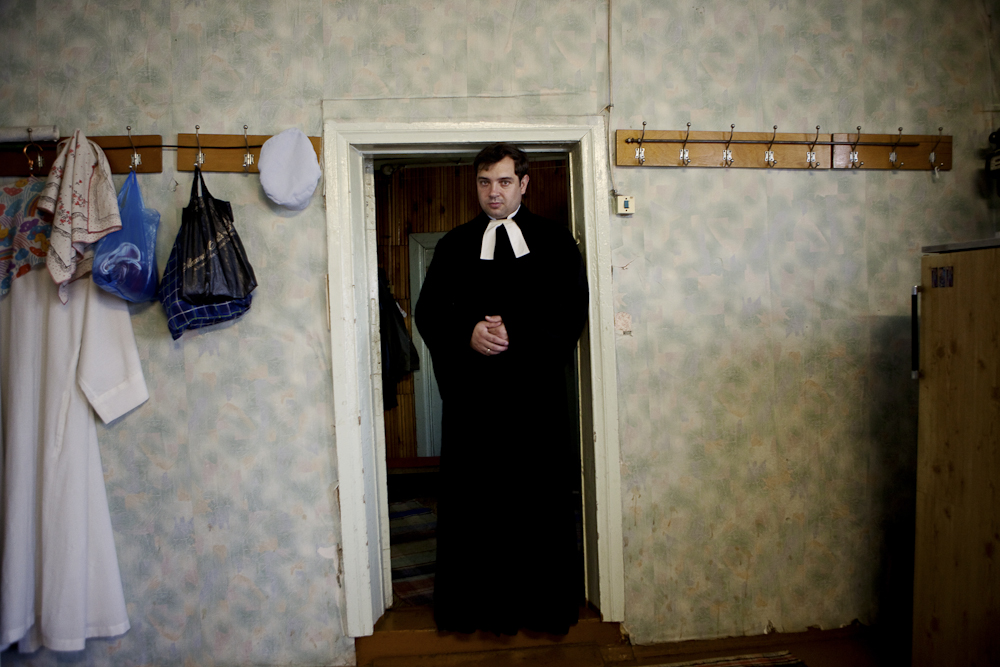 The pastor of the Lutheran church in Syktyvkar, Russia. 2011