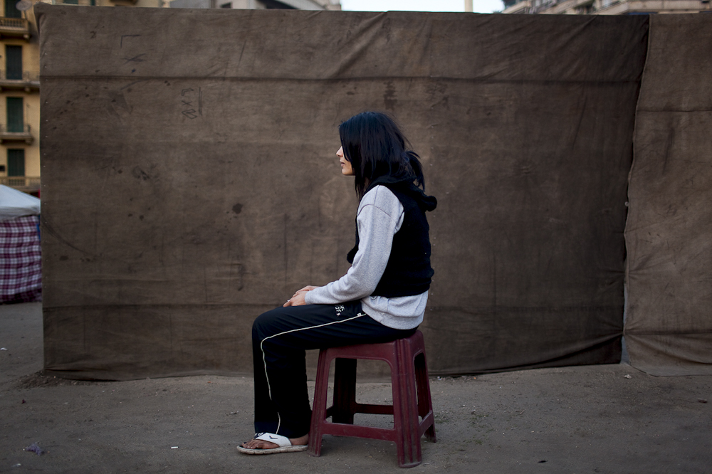 Shireen, 25, an accountant from Cairo, was abducted in Tahrir Square by SCAF, accused of taking part in the burning of the Balloon Theatre in Agouza, Cairo, Dec of 2011. She was detained inside a women's military prison for almost 2 months. Shireen encountered a series of sexual assaults and beatings. Mar. 7, 2012
