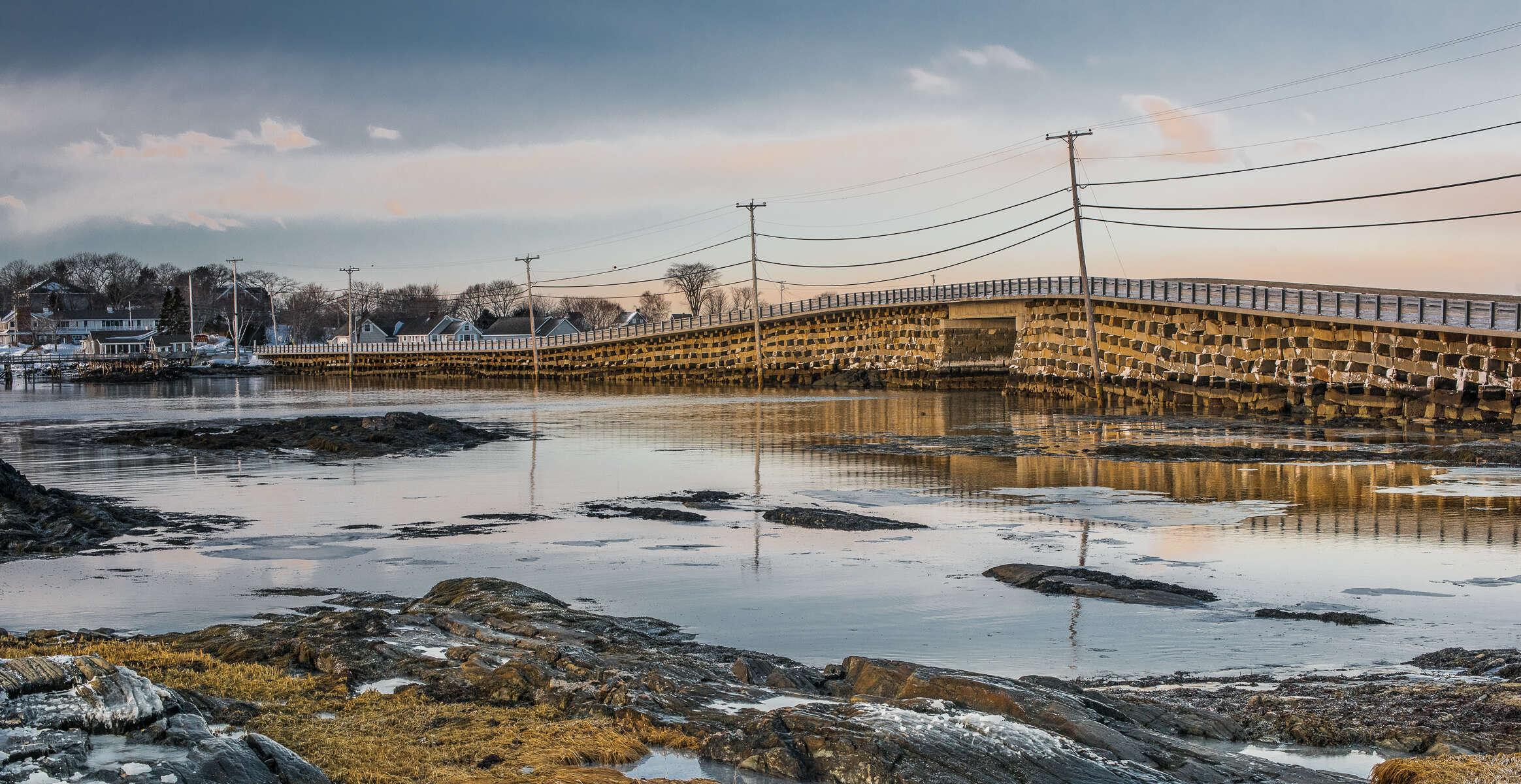 Cribstone Bridge, Bailey Island Harpswell Maine