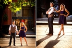 The engagement session of Jamie & Brad in Pioneer Square and Discovery Park in Seattle. (Engagement Photography by Scott Eklund - Red Box Pictures)