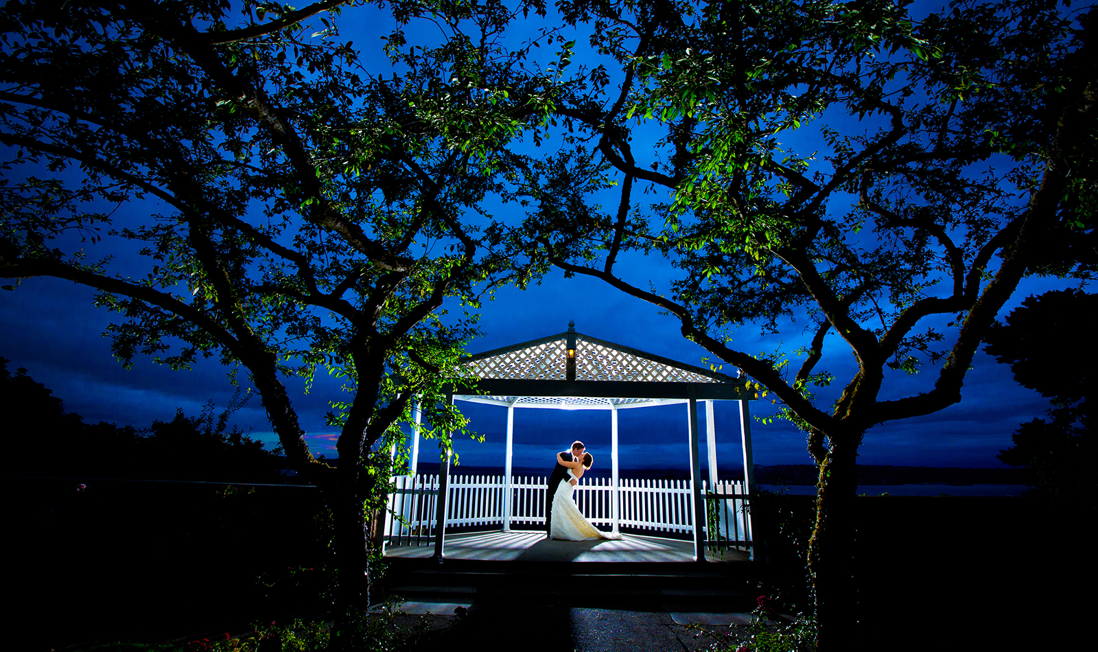 The wedding of Candace & Nigel at the Weyerhaeuser Estate in Tacoma. (Photo by Scott Eklund /Red Box Pictures)