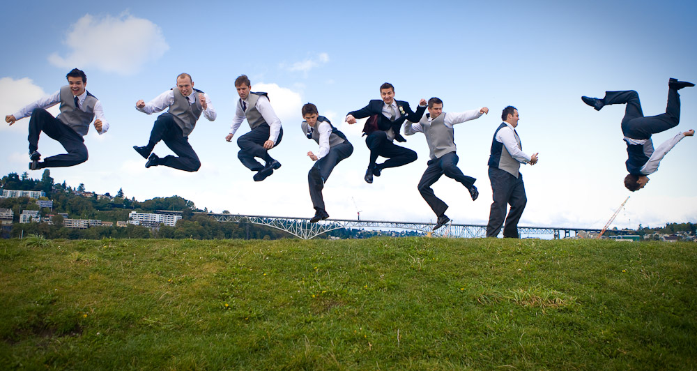 groomsmen-jumping-flipping-kite-hill