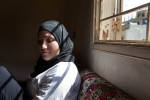 Mona Mhmad Al Masri, 15, at her home in Burj El-Barajneh camp in the outskirts of Beiruit, Lebanon.