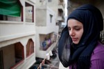 Riham Al-Quesi, 16, at her home in Beddowi camp, Tripoli, Lebanon.