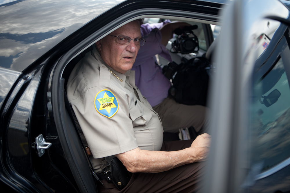 Sheriff Joe Arpaio, 78, is the sherriff of Maricopa County, Arizona.