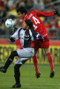 Atlas' Bruno Marioni, left, gains control of the ball against Toluca's Edgar Duenas during the second half Interliga game at Robertson Stadium on Sunday, Jan. 3, 2010, in Houston. Neither team scored.