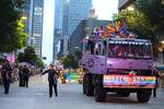 Houston Pride Parade on Saturday June 22, 2019 in downtown Houston, TX. Photos by Sharon Steinmann