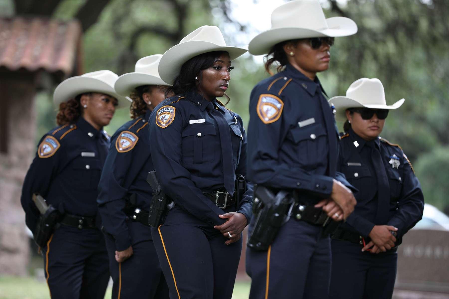 Deputy Omar Diaz end of watch on July 11, 2019 in Houston, TX.Photos by Sharon Steinmann