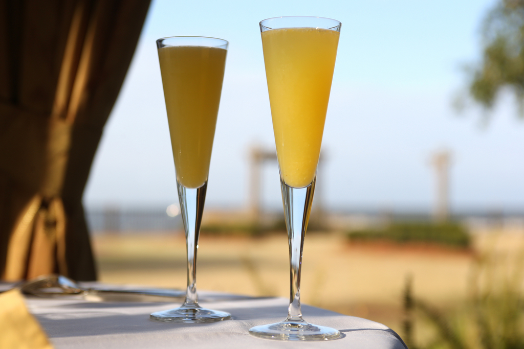 Mimosas at brunch at the Grand Hotel Marriott Resort & Spa in Point Clear, Ala.