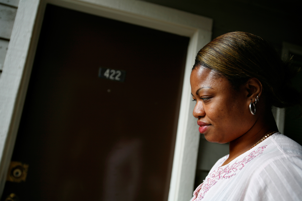 Celestina was arrested by U.S. Immigration and Customs Enforcement in 2007 from her first apartment where she finally was able to live independently in Houston. After nine months of detention, ICE released her and allowed her to stay temporarily in the U.S.  She waited for months at the home of a friend until she was permitted to work.