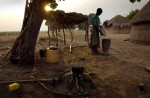 In remote villages in Zambia food aid could take days to arrive.
